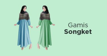 Gamis Songket