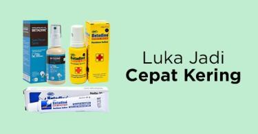 Obat Luka Betadine