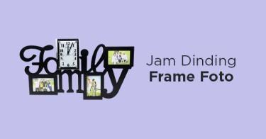 Jam Dinding Frame