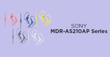 Earphone SONY MDR-AS210AP Series