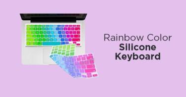 Rainbow Color Silicone Keyboard