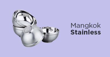 Mangkok Stainless