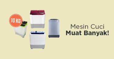 Jual Mesin Cuci 10Kg dengan Harga Terbaik dan Terlengkap