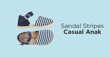 Sepatu Sandal Stripes Anak
