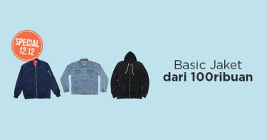 Basic Jaket dari 100Ribuan