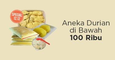 Durian di Bawah 100ribu