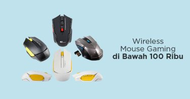 Wireless Mouse Gaming di Bawah 100rb