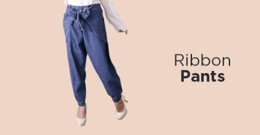 Ribbon pants