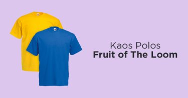 Kaos Polos Fruit of The Loom