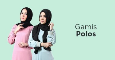 Gamis Polos