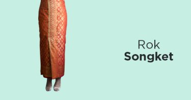 Jual Rok Songket Model Kekinian Harga Rok Songket Murah Grosir