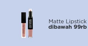 Matte Lipstick dibawah 99rb