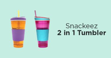 Snackeez 2 in 1 Tumbler