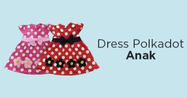 Dress Polkadot Anak