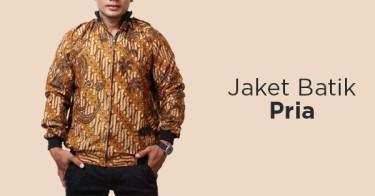 Jaket Batik Pria