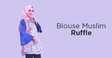 Blouse Muslim Ruffle