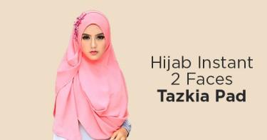 Hijab Instant 2 Faces Tazkia Pad