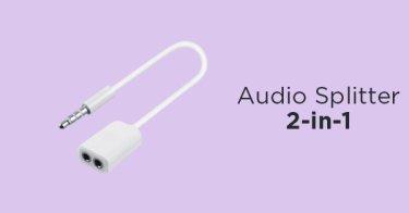 Audio Splitter 2-in-1