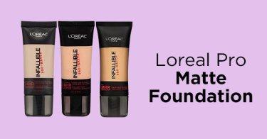 Loreal Pro Matte Foundation