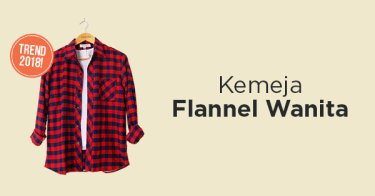 Kemeja Flanel Wanita