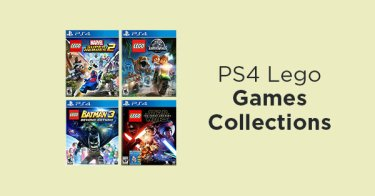 PS4 Lego Games Collections