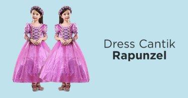 Dress Rapunzel Anak