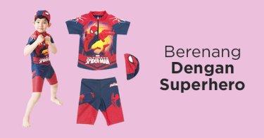 Baju Renang Superhero Anak