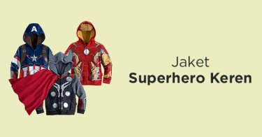 Jaket Superhero Anak