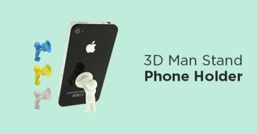 3D Man Stand Phone Holder