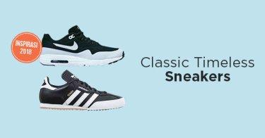 Sneakers Klasik Pria