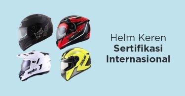 Helm Sertifikasi Safety Internasional