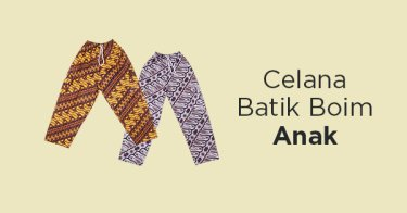 Celana Batik Boim Anak