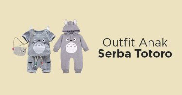 Outfit Totoro Anak