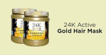 24K Active Gold Hair Mask