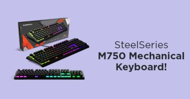 SteelSeries M750 Mechanical Keyboard