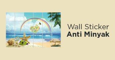 Wall Sticker Anti Minyak