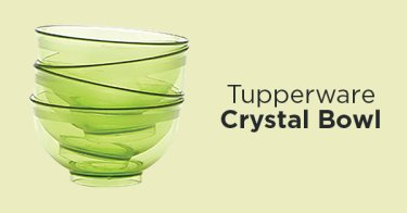 Tupperware Crystal Bowl