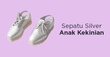 Sepatu Silver Anak