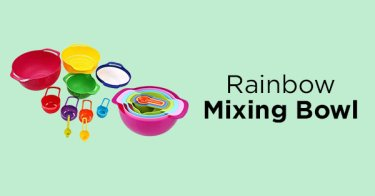 Rainbow Mixing Bowl