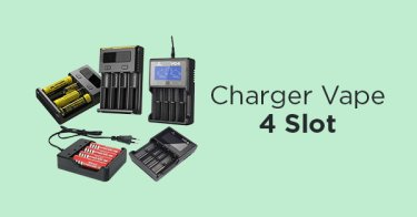 Charger Vape 4 Slot