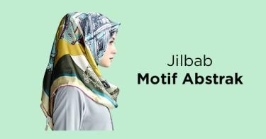 Jilbab Motif Abstrak