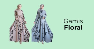 Gamis Floral
