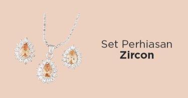 Set Perhiasan Zircon
