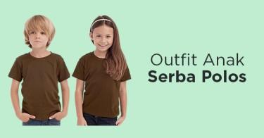 Outfit Anak Serba Polos