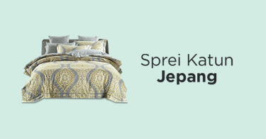 Sprei Katun Jepang