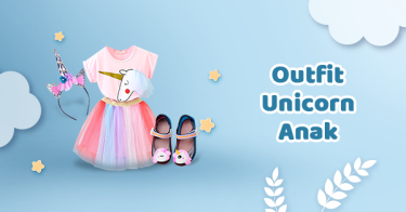 Outfit Unicorn Anak