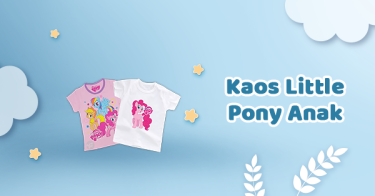 Kaos Little Pony Anak