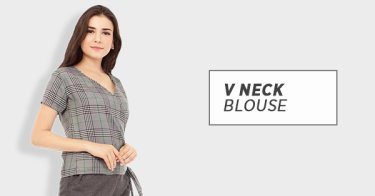 Blouse V Neck