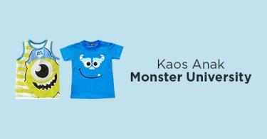 Kaos Anak Monster University
