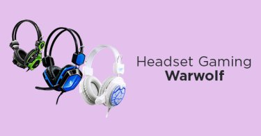 Headset Gaming Warwolf